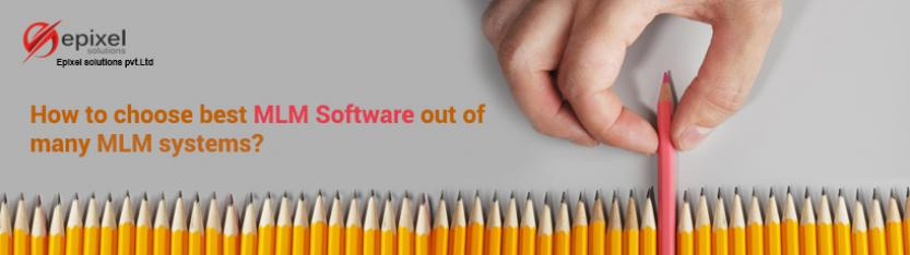 Choose best mlm software among vast of network systems
