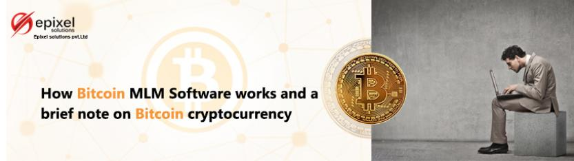 Working of Epixel MLM Software with Bitcoin Payment gateway and Cryptocurrencies